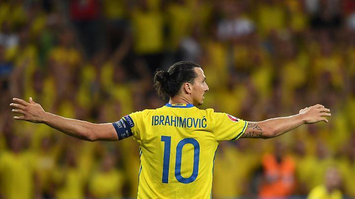 Zlatan Ibrahimovic war nach einer erfolglosen EM 2016 aus der schwedischen Nationalmannschaft zurückgetreten.
