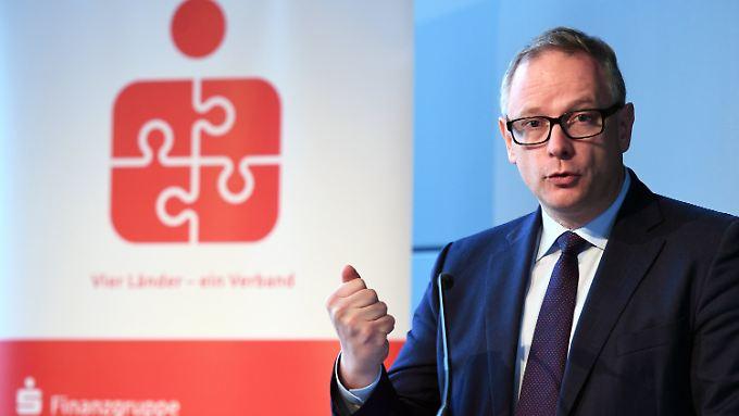 Georg Fahrenschon ist seit sechs Jahren DSGV-Präsident.