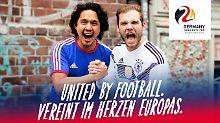 Der Sport-Tag: DFB stellt Slogan der EM-Bewerbung vor