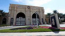 Kronleuchter statt Doppelzelle: Luxushotel in Riad wird zum Gefängnis