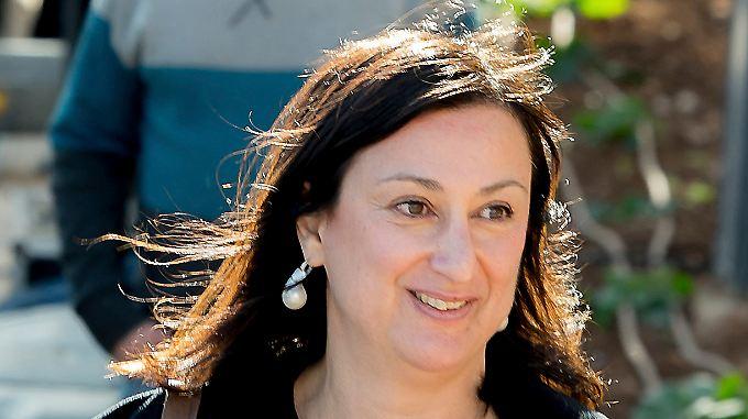 Daphne Caruana Galizia wurde möglicherweise Opfer eines politischen Mordes.