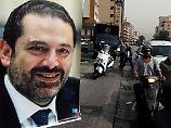 Libanons Ex-Staatschef: Macron holt Hariri nach Paris