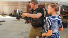 Umstrittene Übungen in Israel: Ex-Soldaten geben Touristen Schießtraining