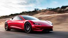 Neues von Tesla: Musk stellt Sattelschlepper und Roadster vor