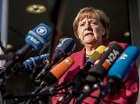 """""""Es wird sicherlich hart"""": Das sagt Merkel"""