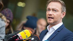 """""""Interessieren sich nur für Kohlekraftwerke"""": Lindner motzt gegen Grüne, Roth kompromissbereit"""
