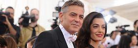 """Zwischen """"Work"""" und """"Fashion"""": Clooneys Babys können brabbeln"""