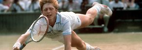 Im Südwesten Londons besiegt der erst 17-Jährige den Südafrikaner Kevin Curren im Endspiel des legendärsten Tennisturniers der Welt. Am Ende steht es 6:3, 6:7, 7:6, 6:4.