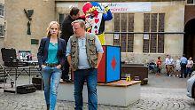 Ratloses Ermittlerteam und eine Leiche im Clownskostüm: Münster ist und bleibt eben Münster.