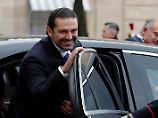 Wirren im Libanon: Hariri kündigt Rückkehr an