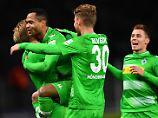 Hertha-Aufholjagd nicht belohnt: Gladbach rückt auf Platz drei vor
