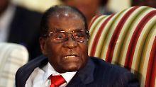 """""""Krokodil"""" tritt Nachfolge an: Regierungspartei entmachtet Robert Mugabe"""