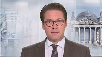 """CSU-Generalsekretär Scheuer: """"Die eine Möglichkeit ist gescheitert, die andere scheitert an der SPD"""""""
