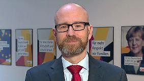"""CDU-Generalsektretär Tauber: """"Wir sind der FDP sehr weit entgegengekommen"""""""