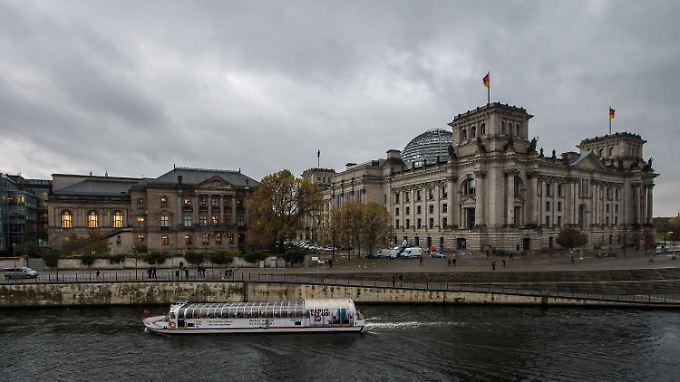 Über die Zusammensetzung de Bundestages muss vielleicht neu abgestimmt werden.