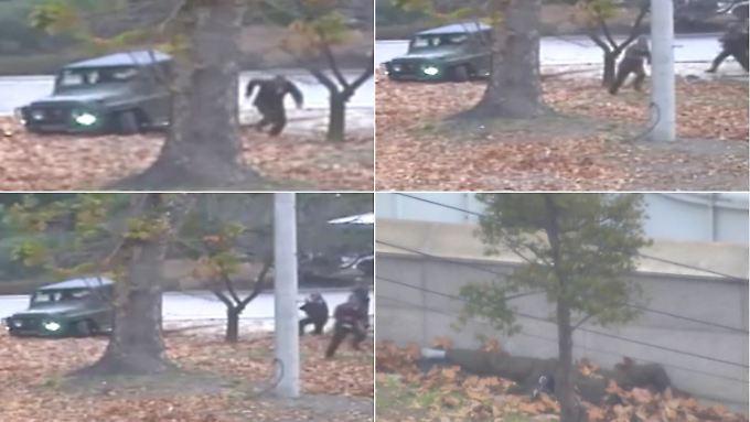 UN veröffentlicht Video: Soldaten aus Nordkorea schießen auf flüchtenden Kameraden