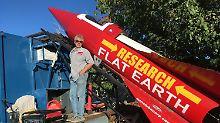 """Doch eine Scheibe?: Raketenbastler will """"flache Erde"""" beweisen"""