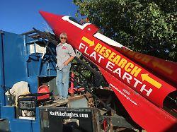 """Ist die Erde doch eine Scheibe?: Raketenbastler will """"flache Erde"""" beweisen"""