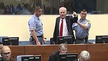 """""""Schlächter vom Balkan"""": Ex-General Mladic muss lebenslang in Haft"""