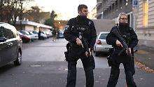 Großeinsatz in Duisburg: Polizei gibt Entwarnung nach Amok-Alarm