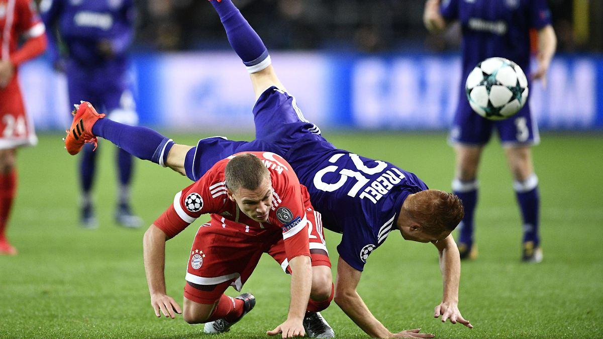 Arbeitssieg Gegen Anderlecht Bayern Rumpeln Zum Showdown