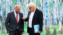 Steinmeier empfängt Schulz: SPD will sich alle Optionen offenhalten
