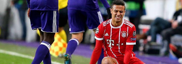 CL-Duell gegen Anderlecht: Bayern mühen sich unter Schmerzen zum Sieg