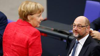 """""""Wenn die Inhalte stimmen"""": Schulz' Nein bröckelt"""