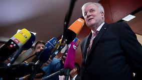 """Horst Seehofer zur CSU-Personaldebatte: """"Es ist ein offener Prozess"""""""