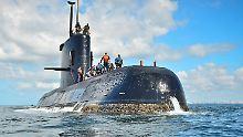 """Im Südatlantik verschollen: Das U-Boot """"ARA San Juan"""" (Archivbild)."""