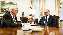 Steinmeiers Druck zeigt Wirkung: SPD will mit anderen Parteien sprechen