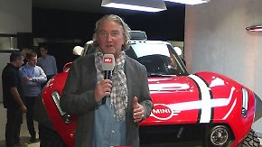 Mini mit Zweiradantrieb: Mit diesem Buggy startet das X-raid-Team bei der Rallye Dakar