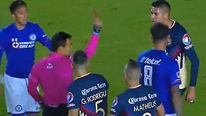 Treter ohne Einsicht: Horrorfoul schockt die 1. Mexikanische Fußball-Liga