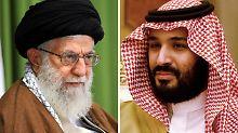 """Böse Töne Richtung Teheran: Saudi-Prinz nennt Chamenei """"neuen Hitler"""""""