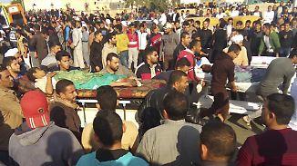 Mehrere Hundert Tote: Terroranschlag auf Moschee am Sinai schockiert Ägypten