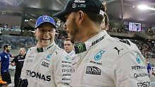 Finne macht WM noch mal spannend: Bottas düpiert Hamilton und Vettel
