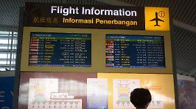 Der Flugbetrieb am Ngurah Rai International Airport war zunächst eingeschränkt - mittlerweile wurde der Flughafen geschlossen.