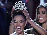 """""""Viele Ängste überwunden"""": 22-jährige Südafrikanerin ist """"Miss Universe"""""""
