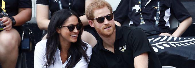 Tragen beide gern Sonnenbrillen: Meghan Markle und Prinz Harry.