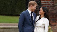 Erste Bilder als Verlobte: Prinz Harry und Meghan Markle zeigen sich