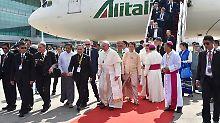 Vermittlung in Rohingya-Krise: Franziskus trifft myanmarischen Armeechef