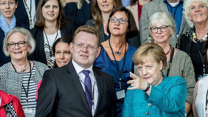 Im Mai war Bürgermeister Hollstein mit dem Nationalen Integrationspreis geehrt worden.