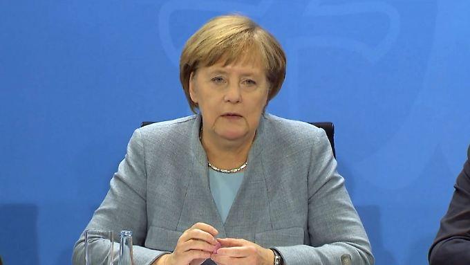 """Merkel zu Schmidts Alleingang: """"Entspricht nicht dem vereinbarten Verhalten"""""""