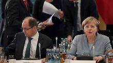 Solo bei Glyphosat-Zulassung: Merkel rügt Schmidts Alleingang