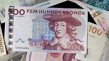 Der Börsen-Tag: Schwedische Krone schlingert nach BIP-Überraschung