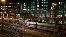 Keine Verletzten: ICE im Bahnhof Basel entgleist