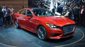 Die schönste und potenteste Variante eines Hyundai sind die Genesis-Modelle. So wie der G80 Sport.