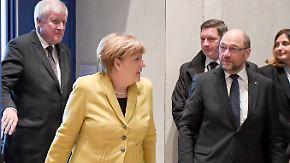 Gespräche mit Steinmeier: Bei möglichen Koalitionären rumort und kriselt es