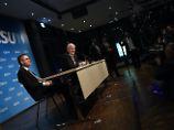 Wunsch nach Koalition in Bayern: CSU stürzt in Umfrage ab