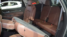Viel Platz bietet die dritte Reihe im Buick Enclave nicht.